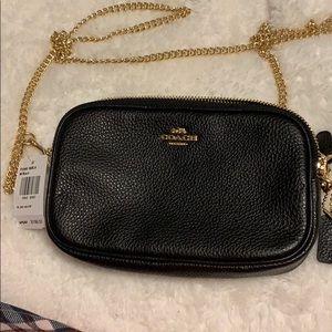 NWT Coach crossbody chain purse